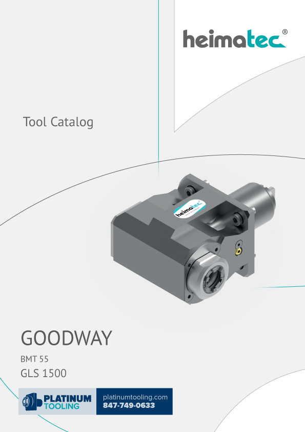 Goodway GLS 1500 BMT 45 Heimatec Catalog for Live and Static Tooling