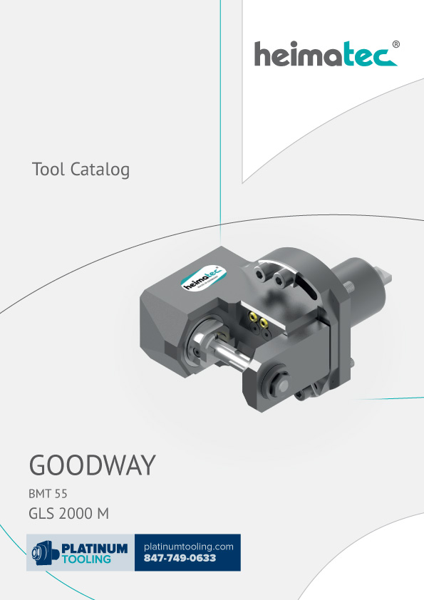 Goodway GLS 2000 M BMT 45 Heimatec Catalog for Live and Static Tools