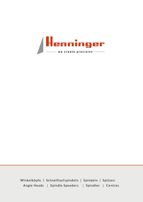 Henninger Catalog