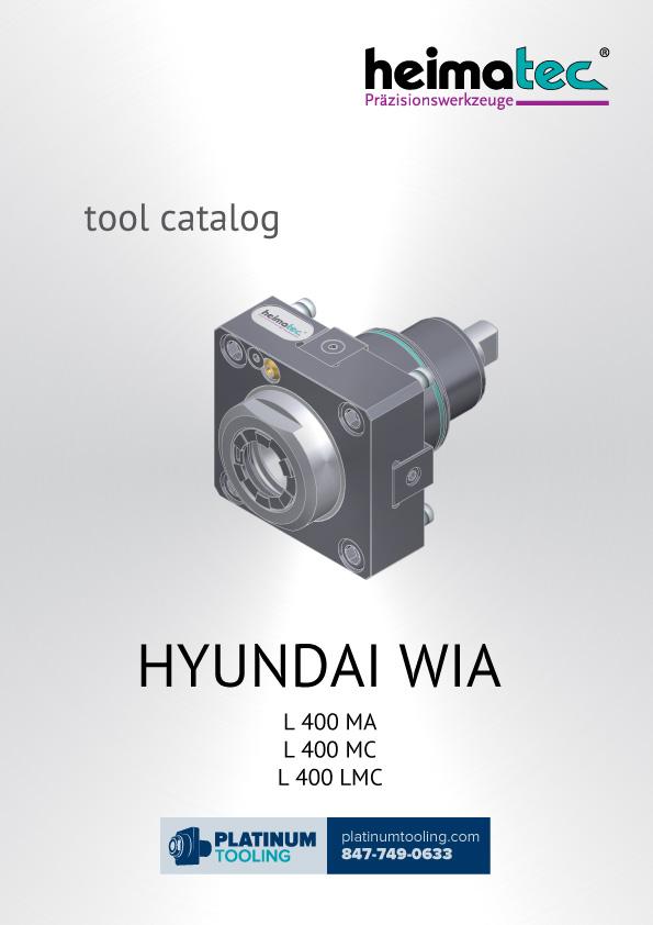 Hyundai Wia L400 MA-MC-LMC Heimatec Catalog for Live and Static Tools