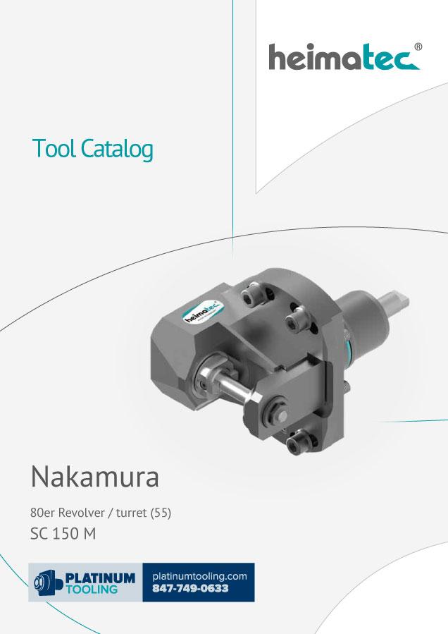 Nakamura SC 150 M BMT 55 heimatec tool catalog