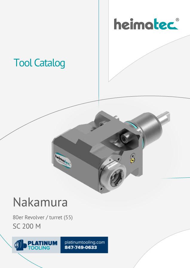 Nakamura SC 200 M BMT 55 heimatec tool catalog