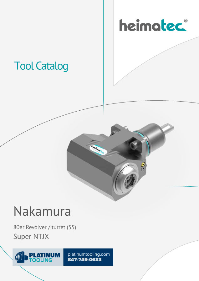 Nakamura Super NTJX BMT 55 heimatec tool catalog