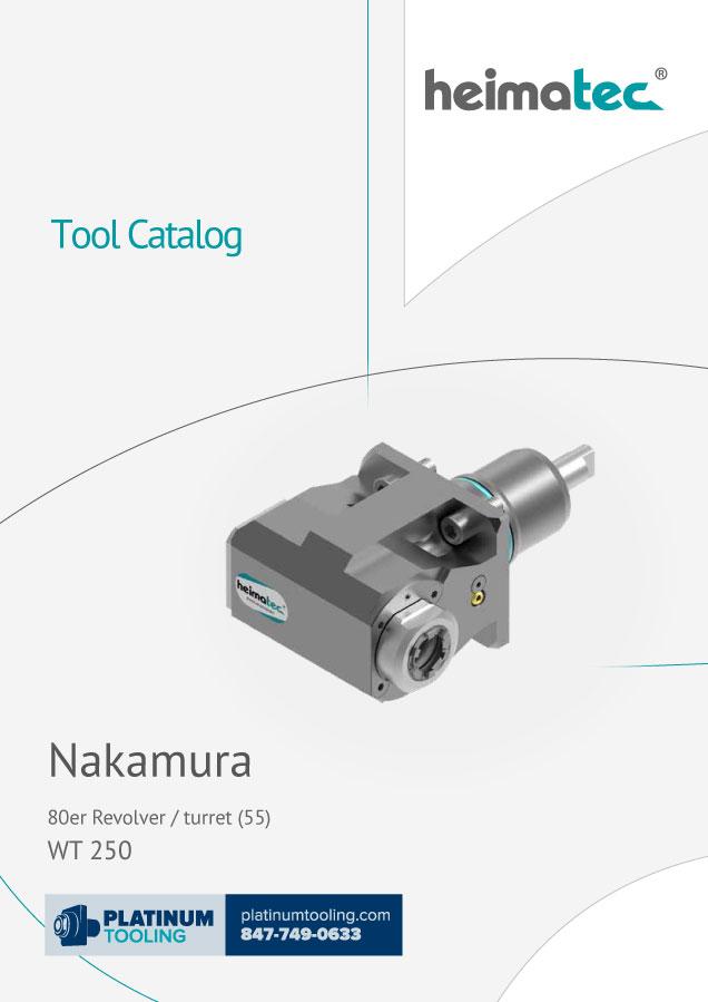 Nakamura WT 250 BMT 55 heimatec tool catalog